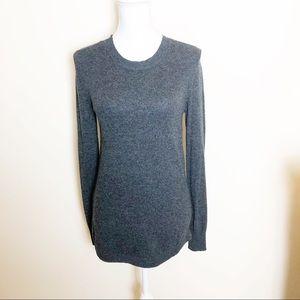 Loft Crewneck Shirttail Sweater